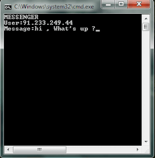 How to Chat with Friends through Command Prompt