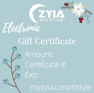 Zyia Active Gift Certificate