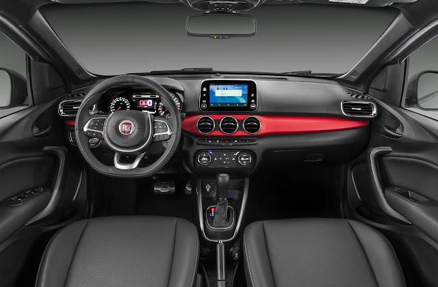 Fiat Argo 1.8 HGT Automático - interior