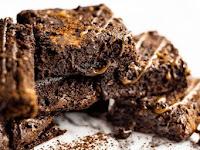 Salted Caramel Fudgy Brownies
