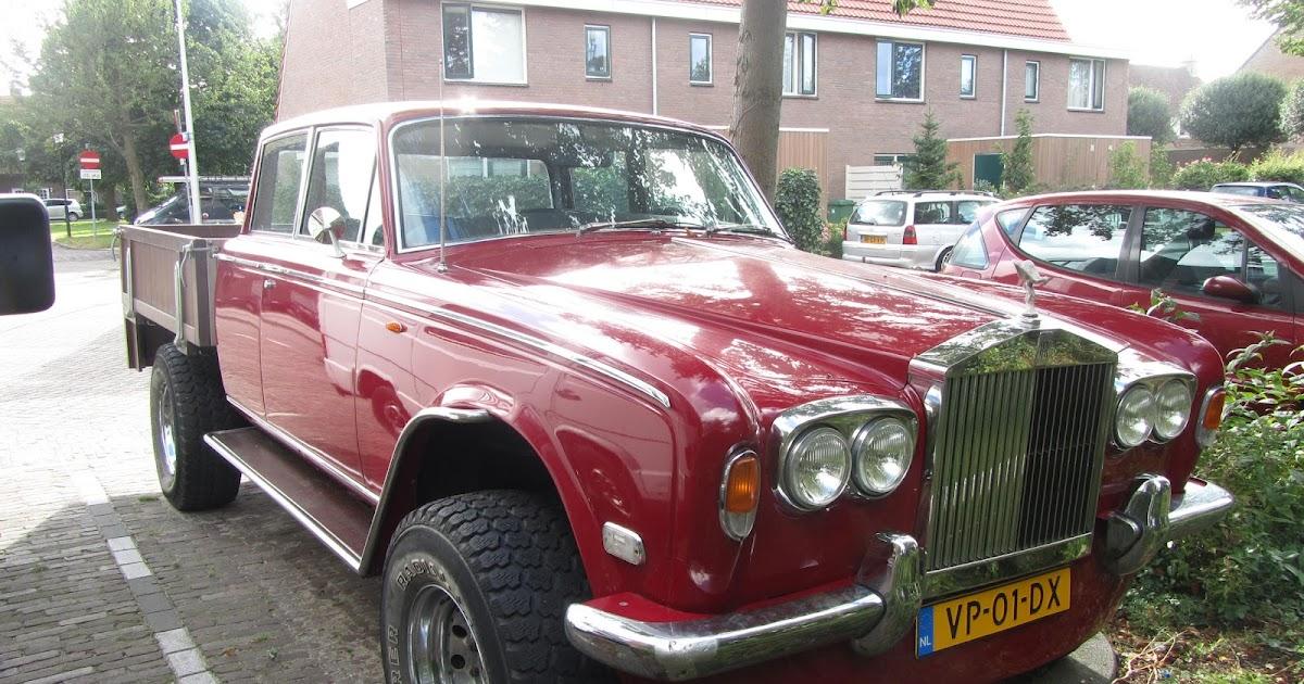 autoliterate: Rolls Royce Pickup