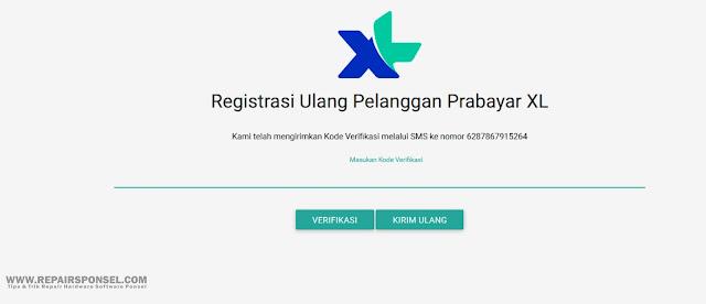 Cara Register Ulang Kartu XL Peraturan Menkominfo