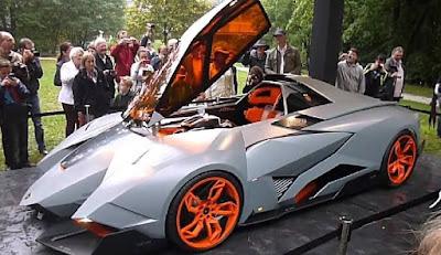 Gambar Lamborghini Egoista Produksi Tahun 2013