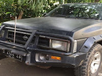 Polisi Amankan Mobil Terrano Pembawa Nasi Bungkus Pendemo Rumah SBY