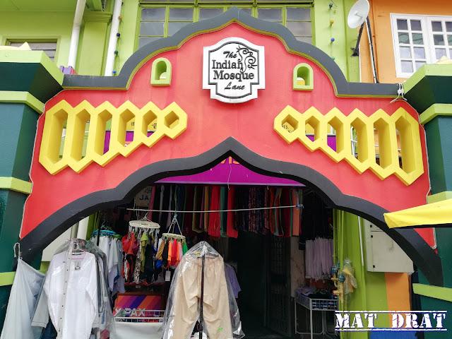 Masjdi India India Street Kuching