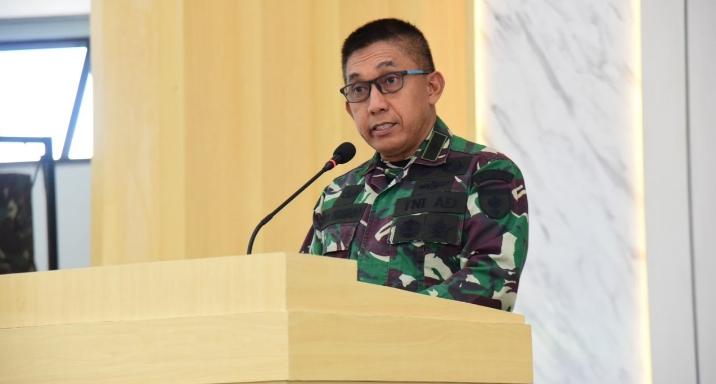 Perwira Alumnus Akademi TNI Yang Bertugas Di Wilayah Kodam Hasanuddin Menerima Sosialisasi Kakak Adik Asuh