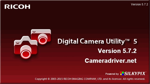 Pentax Digital Camera Utility Update Version 5.7.2 for Windows