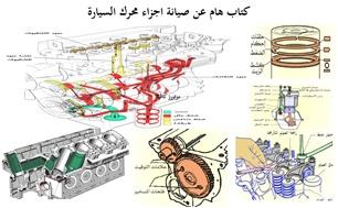 كتاب هام عن صيانة اجزاء محرك السيارة pdf