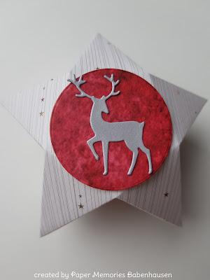 Box, Verpackung, Weihnachten, Weihnachtsbox, christmas, Paper Memories, Babenhausen, crafts