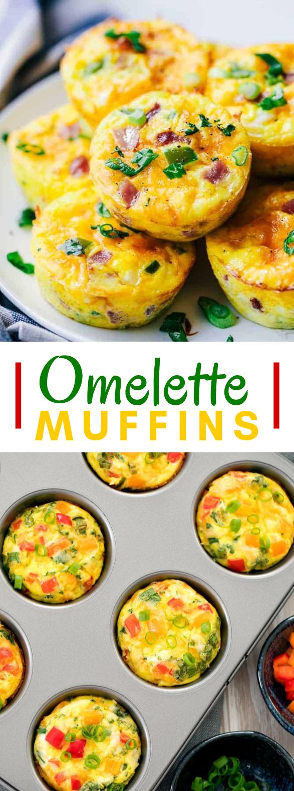 Omelette Muffins #breakfast #dinner
