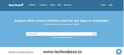 free seo tools like ahrefs, www.technobeez.in