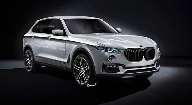 2019 New BMW SUV X7 Concept, Price And Release Date