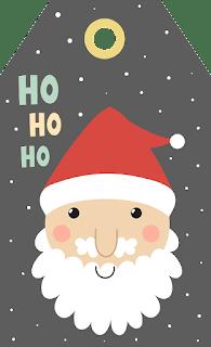 かわいいクリスマスタグ