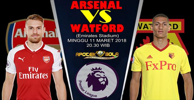 Prediksi Arsenal vs Watford 11 Maret 2018