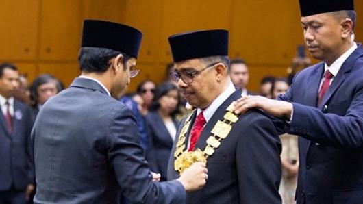 Pesan Mendikbud Nadiem Makarim Kepada Rektor Unand Yuliandri saat Dilantik