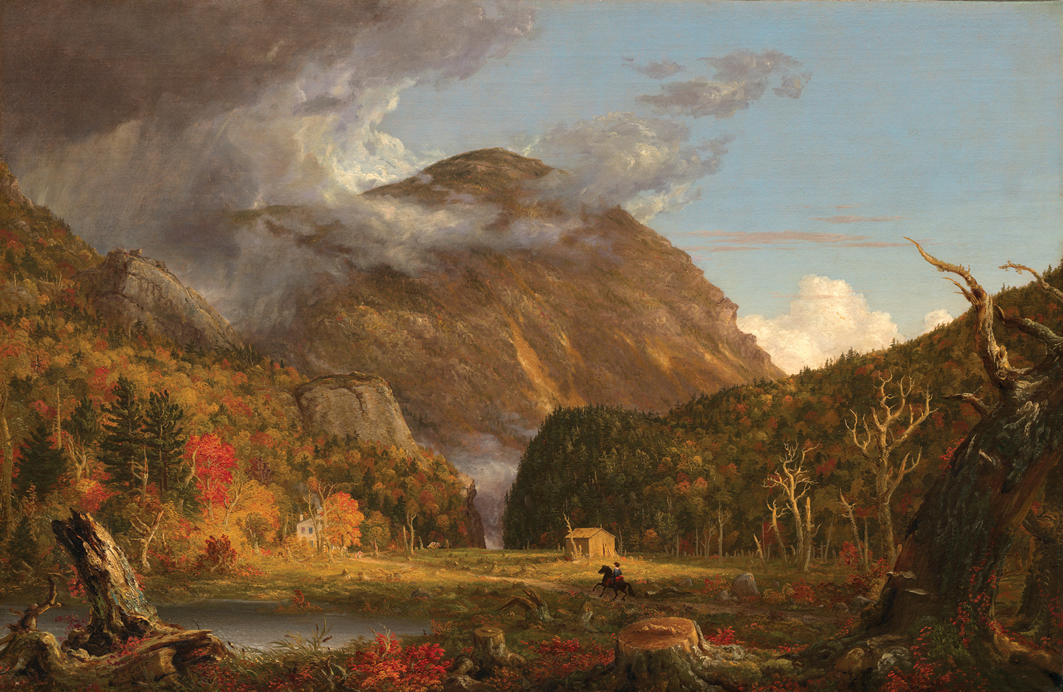 Thomas Cole A View of the Mountain Pass Called the Notch of the White Mountains