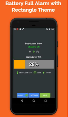 Download Battery Full Alarm and Battery Low Alarm No Ads APK
