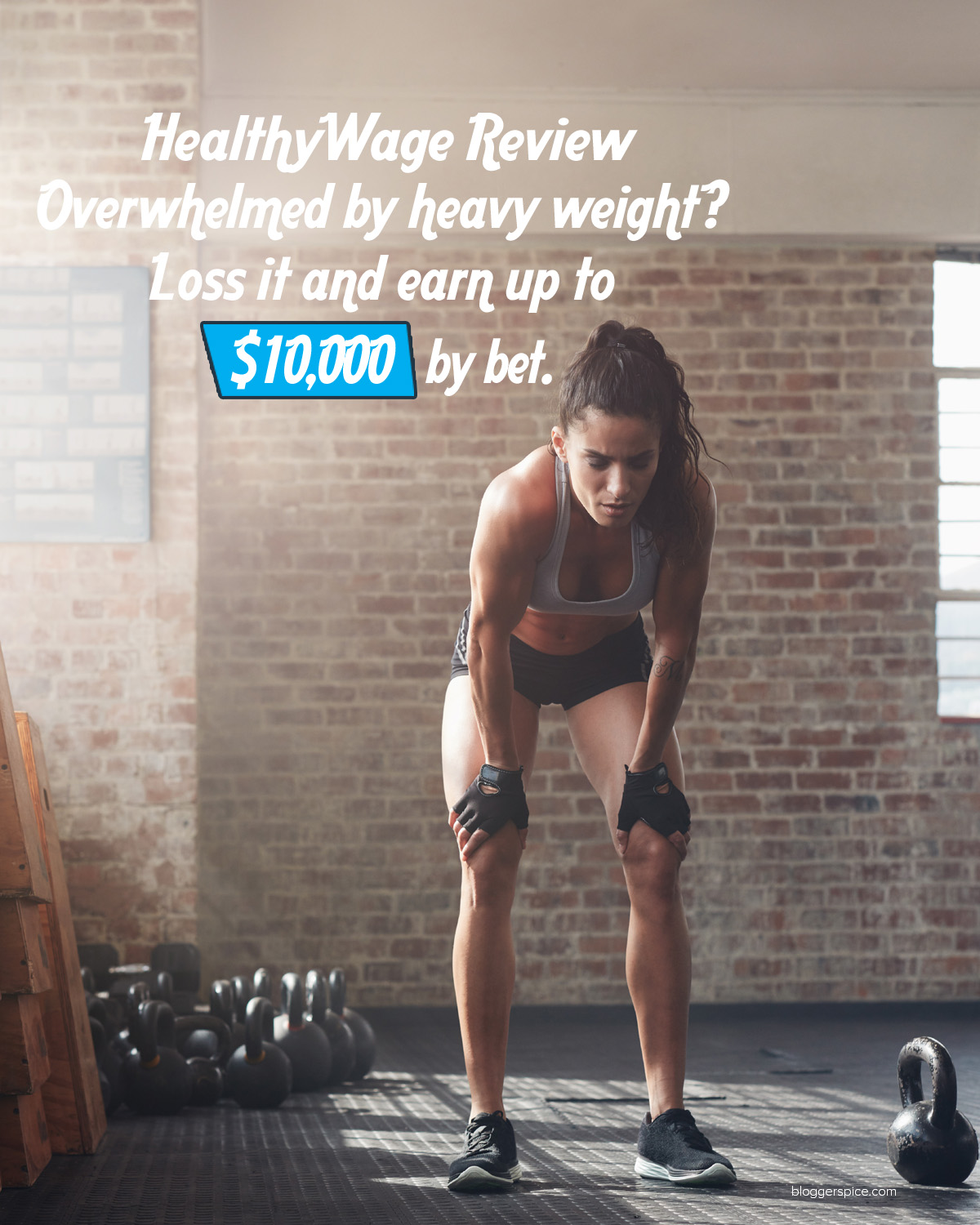 Overwhelmed by heavy weight? Loss it with healthwage and earn up to $10,000 by bet.