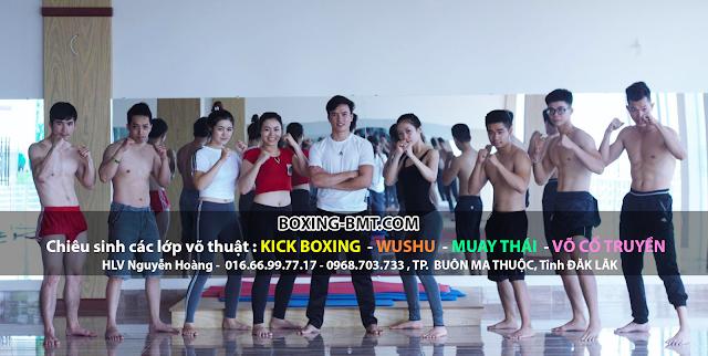 Dạy KICK BOXING tại bmt, daklak, buôn ma thuột ( BOXING-BMT.COM )