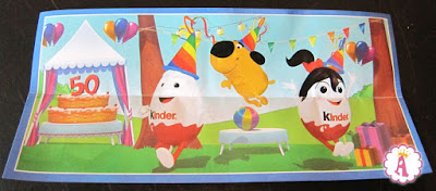 Мальчик и девочка Kinderino к 50-летию Kinder Surprise