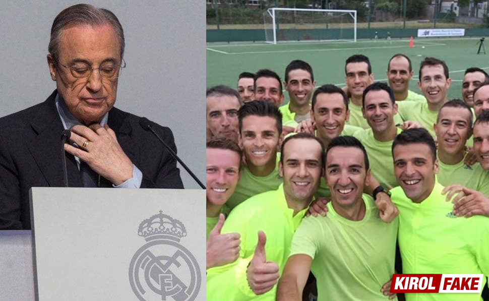 El Real Madrid recortará el Salario de los Árbitros