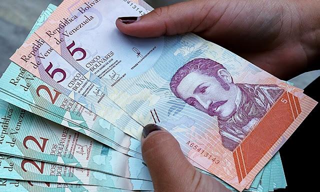 La inflación en Venezuela en el 2019 fue de 9.585,5%