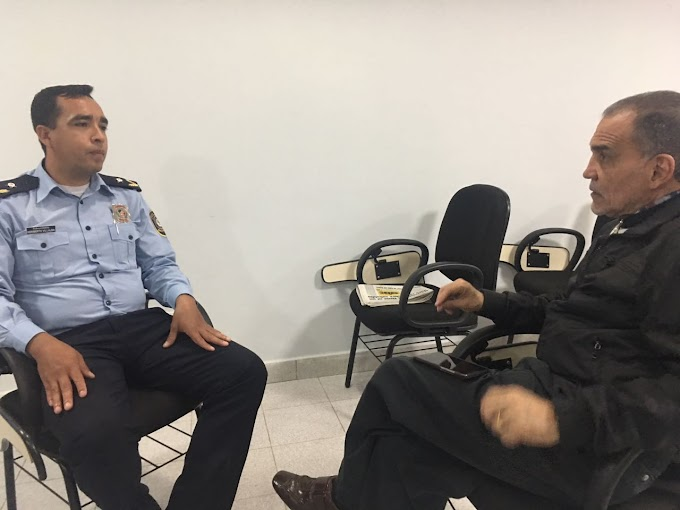 Policía de Turismo se reúne con empresarios