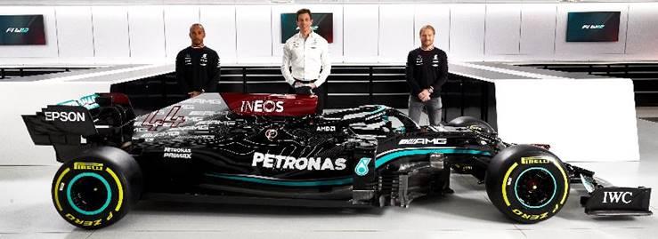 Mercedes-AMG Petronas inicia Temporada 2021