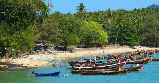 Phuket sea gypsies village at Rawai Beach