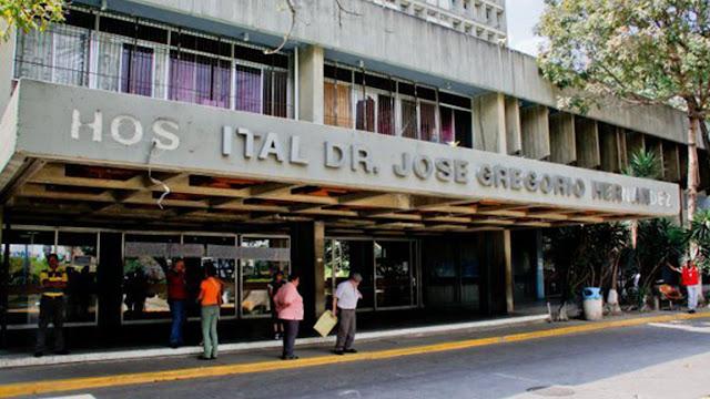 Pacientes del hospital Los Magallanes de Catia en riesgo de infección