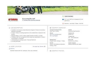 Lowongan PT Yamaha Motor Electronics Indonesia (MM2100 Bekasi Jawa Barat)