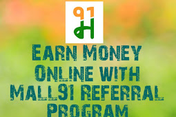 Mall91 Money91 - How To Earn Money by Referral Program [With Proof]