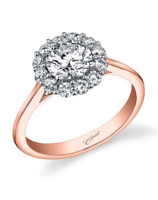 Rose Gold And Platinum Wedding Rings