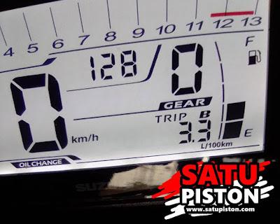 3 Cara Reset Indikator Oli Change di GSX R150 atau GSX S150