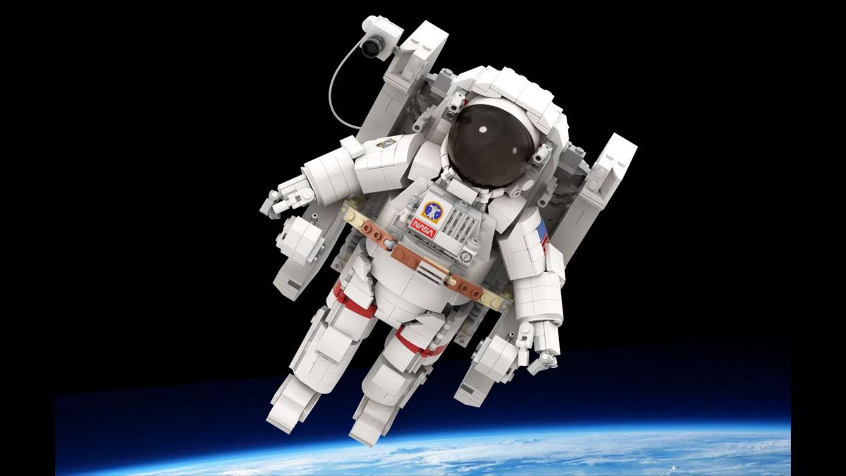レゴアイデアで『レゴ宇宙飛行士』が製品化レビュー進出!2021年第1回1万サポート獲得デザイン紹介