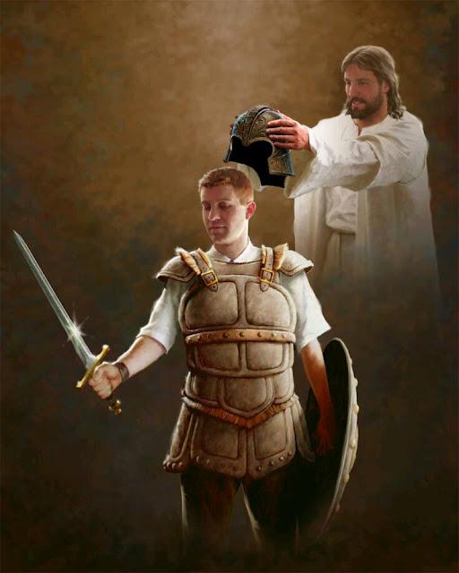 Ready for spirittual warfare