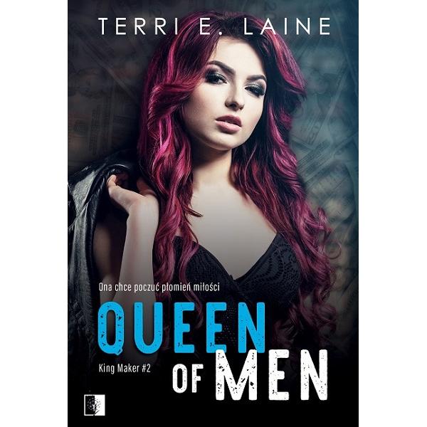 """Terri E. Laine """"Queen of Men"""" z nakładu Wydawnictwa NieZwykłego z premierą w dniu 17.03.2021"""