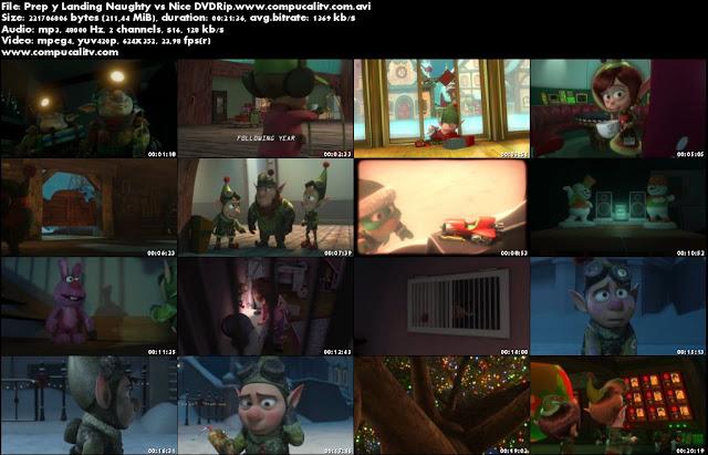 Prep y Landing Naughty vs Nice DVDRip Español Latino Película