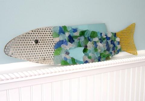 sea glass fish