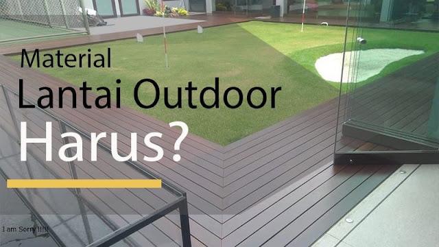 karakteristik lantai terbaik untuk outdoor