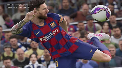 PES 2020 New Graphic Menu for PES 2017