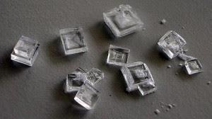 cristales de NaCl