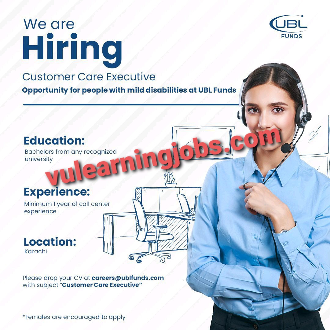 UBL Fund Manager Jobs In Pakistan May 2021 Latest   Apply Now