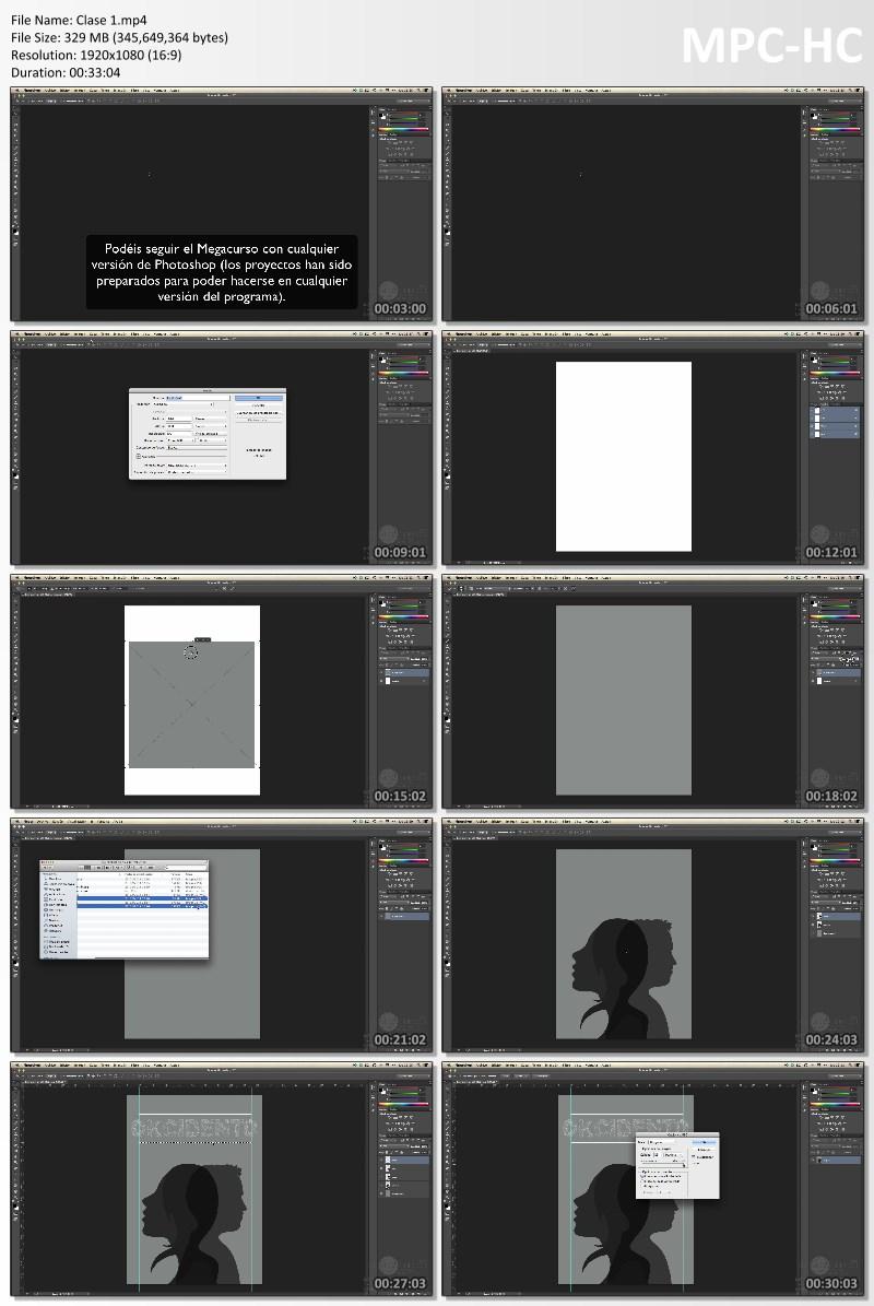 MEGA CURSO Adobe Photoshop, Profesional de 0 a 100