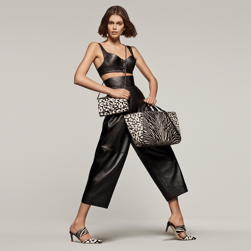 Kaia Gerber Stands Out in Jimmy Choo Spring 2020 Campaign