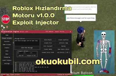 Roblox Hızlandırma Motoru v1.0.0 Exploit Injector Hilesi 2020