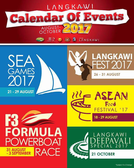 Langkawi Calender Of Event 2017