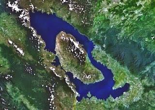 Tourism Object nature of Lake Toba