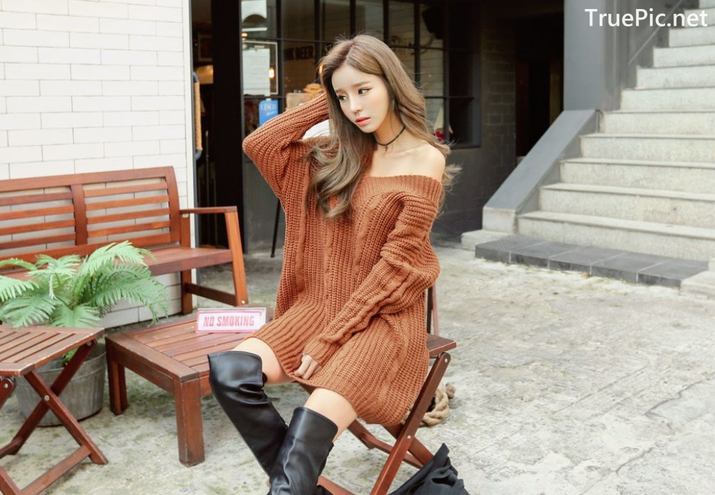 Image Son Ju Hee - Korean Fashion Model - Outdoor Casual Collection - TruePic.net - Picture-3