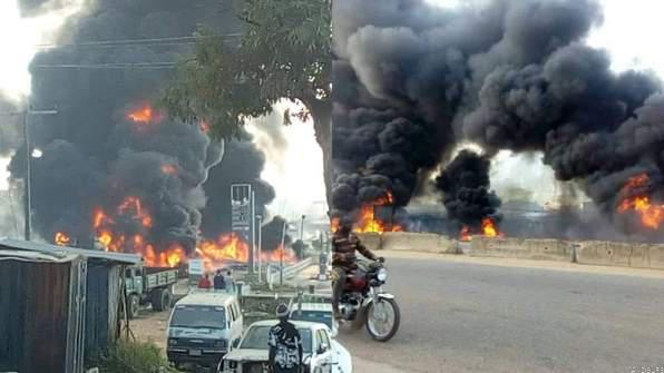 Petrol Tanker Kills Five in Kogi State